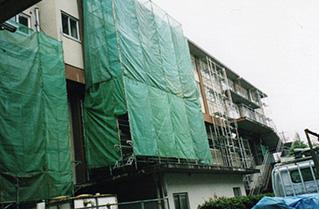 名古屋市立桜ヶ丘・豊国中学校耐震改修工事
