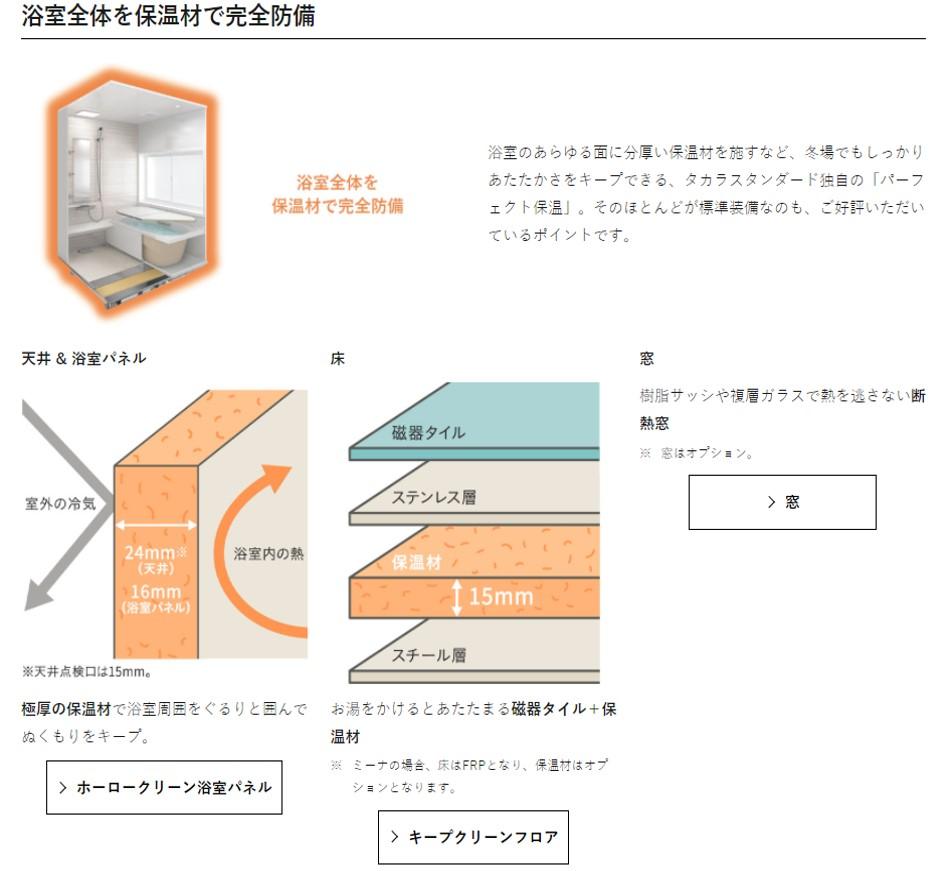 ≪ヒノキブンの家づくり≫ 暖かい家対策⑦ ~温かい浴槽(断熱浴槽)について~